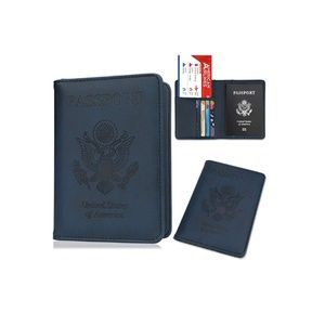 Mazarine Leather Passport Holder Case